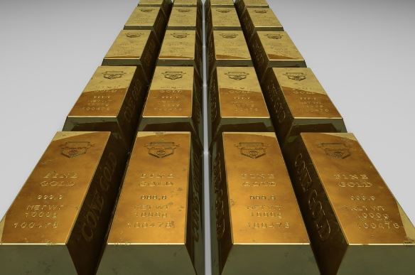 The london gold fix determines the daily value of gold