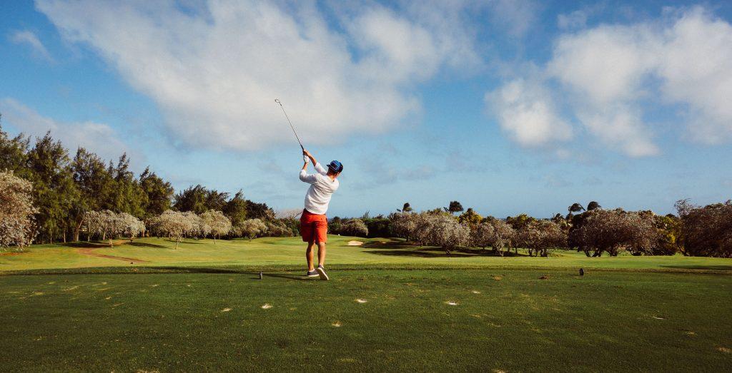 charity golf match